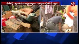 2years old baby falls into borewell in chevella   ranga reddy dist    99tv