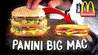 BIG MAC MCDONALD'S vs MACHINE À PANINI (Expérience/Dégustation)