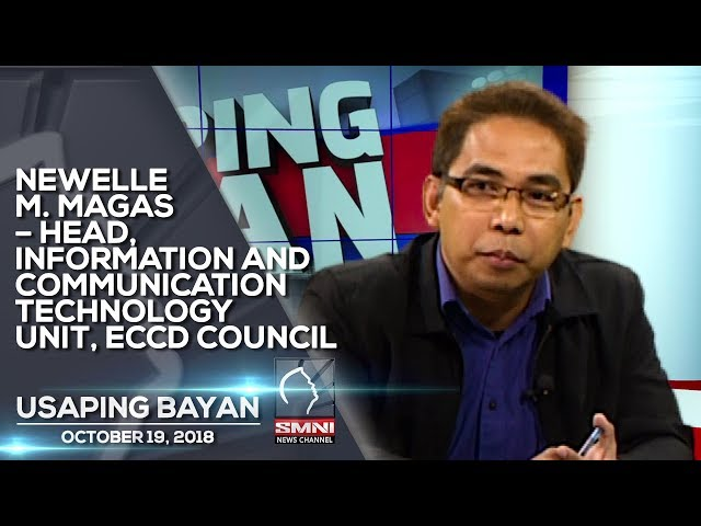 NEWELLE M. MAGAS – HEAD, INFORMATION AND COMMUNICATION TECHNOLOGY UNIT, ECCD COUNCIL USAPING BAYAN