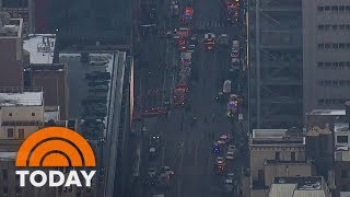 Explosion Takes Place Near New York City Port Authority | TODAY by : TODAY