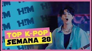 Top 40 KPOP Julio Semana 2 - 2018 ║Ranking K-POP July Week 28 , 2018