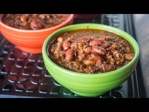 Quick Chili In An 8 Quart Pressure Cooker