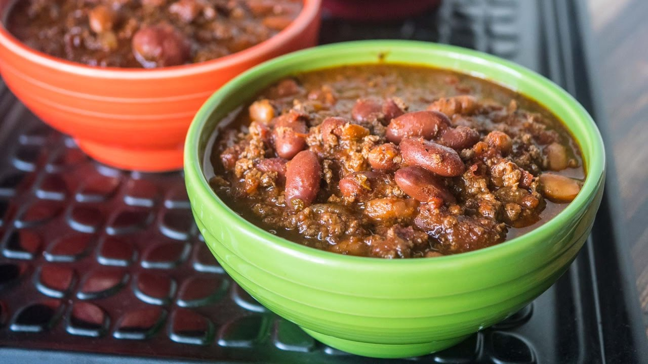 Quick Chili In An 8 Quart Pressure Cooker Youtube