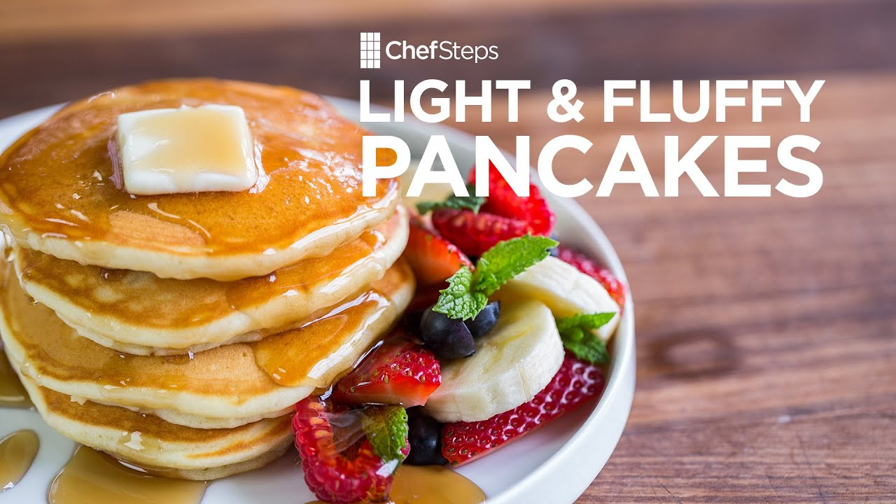 Light and fluffy pancakes recipe youtube light and fluffy pancakes recipe forumfinder Images