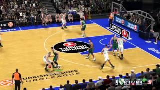 NBA 2k16 euroleague fail- invisible player