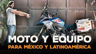Esta es la MOTO y equipo para MÉXICO y Latinoamérica / Contesto a vuestras preguntas