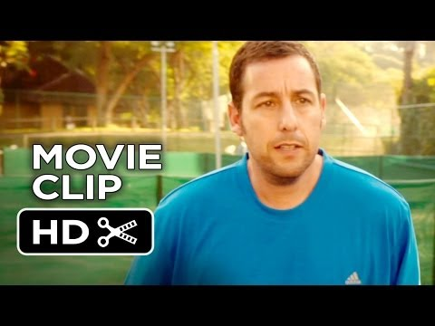 Blended Movie CLIP - Larry, What Are You Doing? (2014) - Adam Sandler Comedy HD