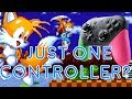 Tails Can Carry Sonic with One Controller? Sonic Mania Trick!