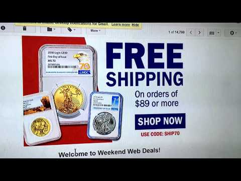**DEAL ALERT**SD BULLION SHIPPING ALERT SPECIAL /Their 1/10 Gold Eagle on sale***