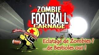 Zombie Football Carnage ! Jeu indépendant à 80 Microsoft Points