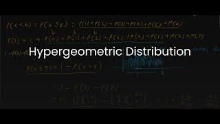 MDM4U/Grade 12 Data Management: 1.7 Hypergeometric Distribution (Discrete Distributions II)