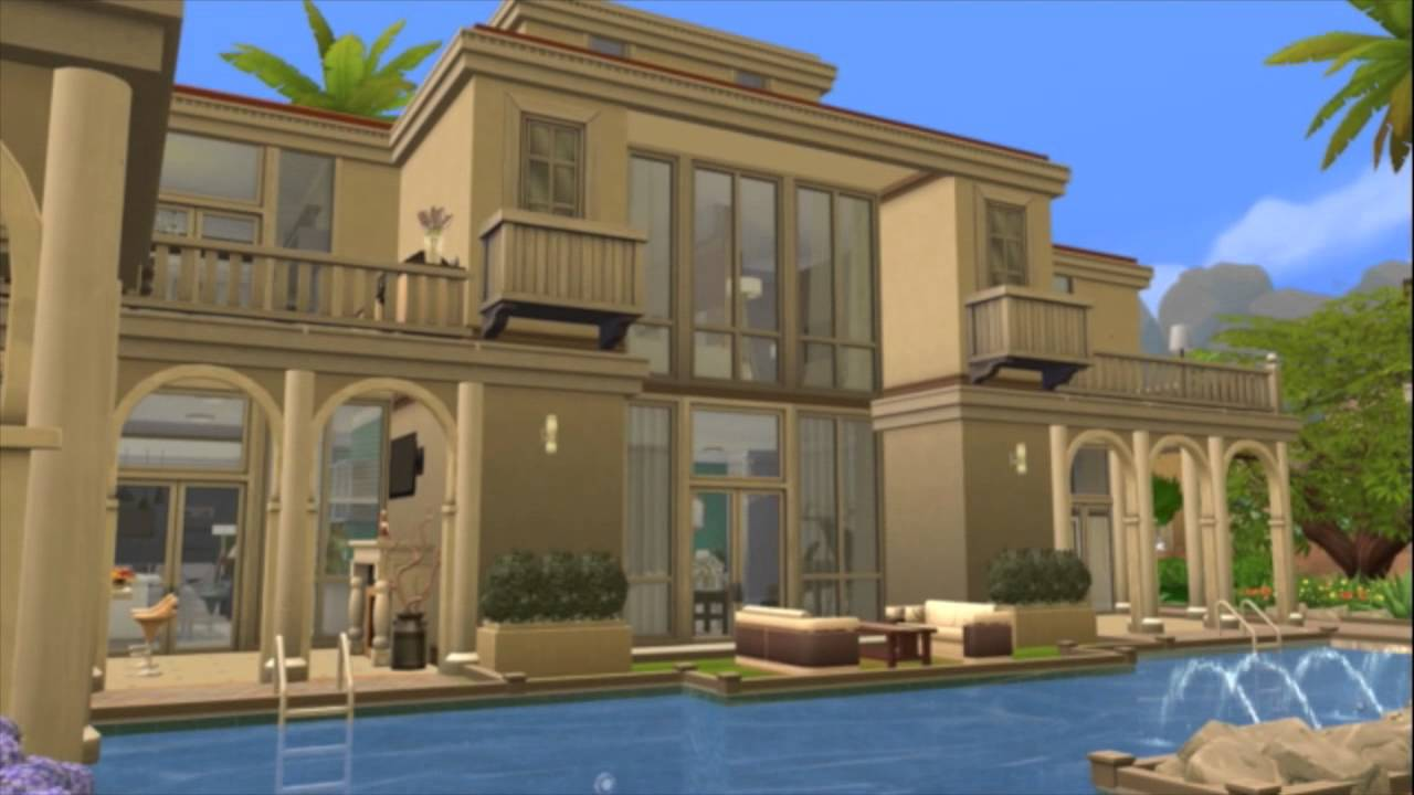The sims 4 celebrity mansion the florida heights youtube for Celebrity houses in florida