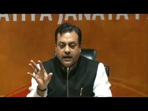 BJP Gujarat: Press Conference by Dr. Sambit Patra at BJP HQ, New Delhi : 26.03.2018