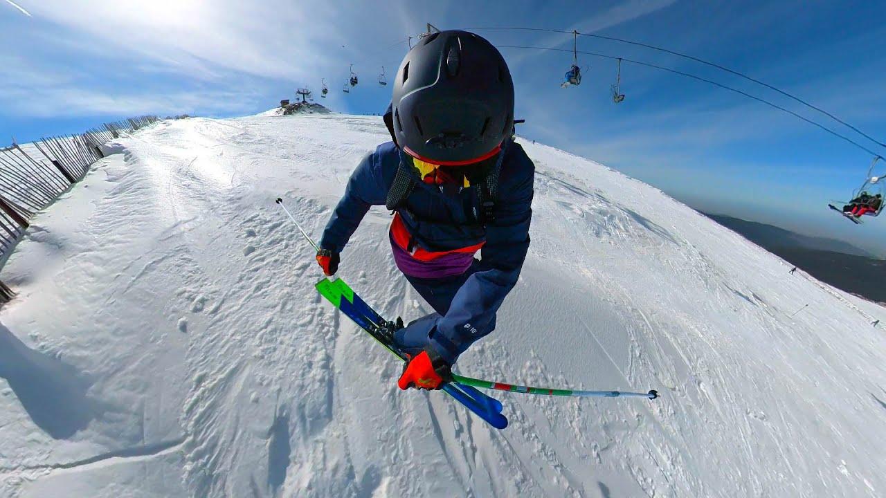 Esquiando un sábado en Valdesquí! Mejor que la lotería! VLOG 51