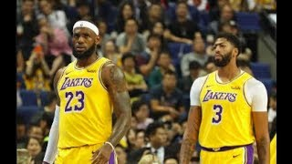 LeBron and Anthony Davis looked great in China. Here's what we learned.