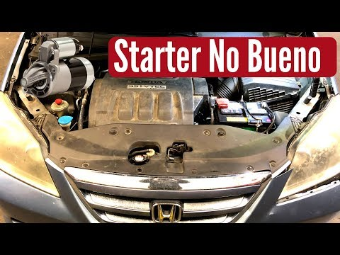 ⚙️Honda Odyssey Starter Replacement 3.5L Engine