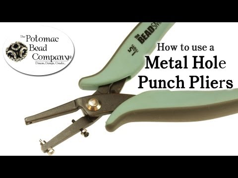 How to Use a Metal Hole Punch