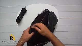 Обзор на кожаную мужскую сумку / BX1128A / Royalbag / Bexhill
