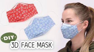 DIY FACE MASK No Sewing Machine | Make Fabric Face Mask at home | Easy Face Mask Pattern