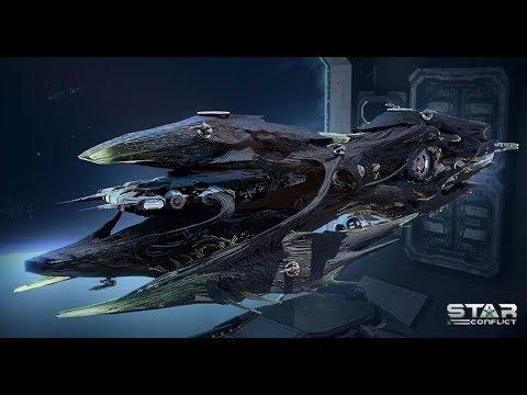 Star Conflict - Как не нужно летать на новом эсминце.