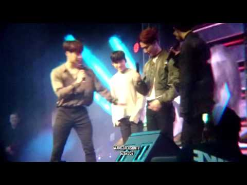 GOT7 fanmeeting in Perth - Funny Intro & JB's new fashion