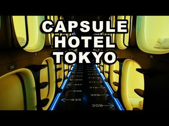 UNA NOTTE IN UN CAPSULE HOTEL A TOKYO