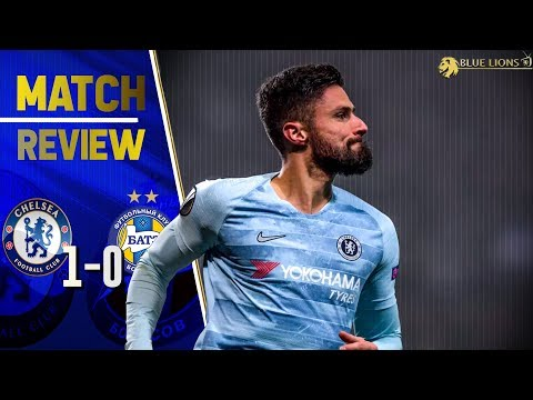 THIS WAS NOT SARRIBALL TONIGHT! || Chelsea 1-0 Bate Borisov Mp3