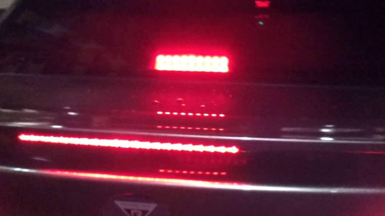Kia Forte Led 3rd Brake Light Mod Youtube