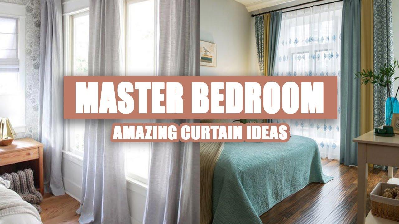 60 amazing master bedroom curtain ideas