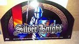Silver Knight Slot Machine Bonus Max Bet BIG WIN !!!
