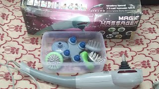 Maxtop Magic Massager Complete Body Massager Unboxing and Feature Hindi