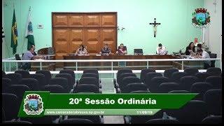 Sessão da Câmara - 11.09.19