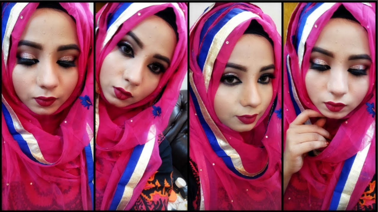 How to hijab wear with long dupatta