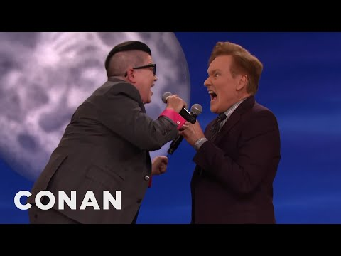 Lea DeLaria & Conan Scat Some Jazz  - CONAN on TBS