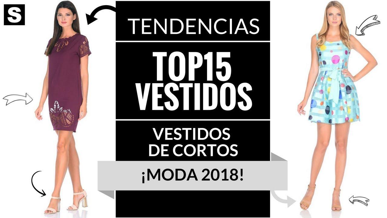 Vestidos Cortos Moda 2018 Vestidos Moda Tendencias