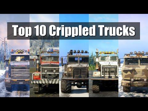 Snowrunner Top 10 Crippled Trucks |