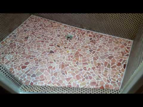 Polygonal tiles grouting jointing