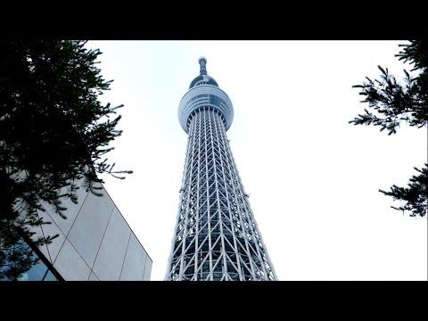 Tokyo Skytree 東京スカイツリ - Tallest TV Tower Worldwide - Japan