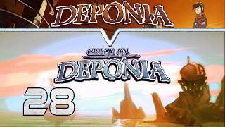CHAOS in Deponia 🗑 DEPONIA #028 ⚙ Complete journey Gameplay Deutsch/German