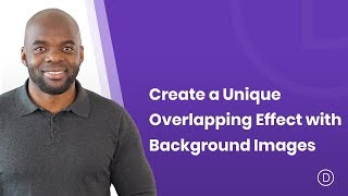 how to create a unique overlapping effect with background images