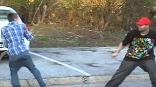 SAGGER STICK FIGHT