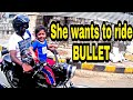 BABY GIRL RIDING BULLET|ANGRY RIDER| RASH RIDING| SQUID ALERT|AUTOMOTS| VIKASH VLOGS
