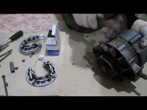 Разборка генератора ваз 2107 карбюратор своими руками видео