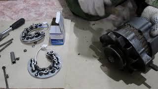 видео Ремонт жигули 2107 генератор. Возможные неисправности генератора, их причины и методы устранения Ваз 2107 Жигули