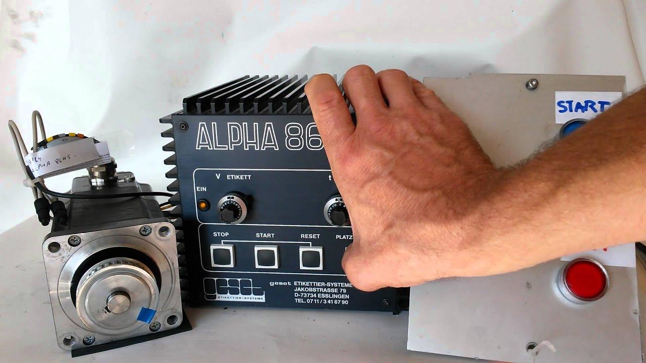 Alpha 86 hs Manual