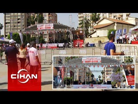 Atatürk'ün posteri yerine Spor Bakanı'nın posteri asılmasına büyük tepki