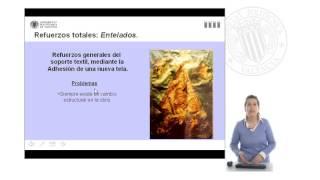Origen de la pintura sobre lienzo: análisis de su expansión como soporte artístico. |  | UPV