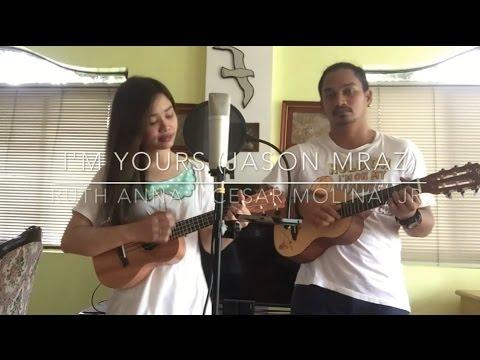 I'm Yours (Jason Mraz) Cover - Ruth Anna || Cesar Molina, Jr