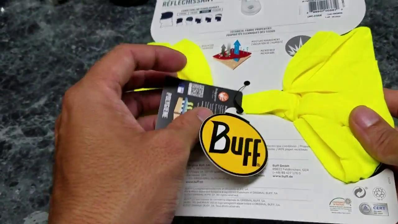 BUFF Reflective Multifunctional Headwear - YouTube 92c1b23e294