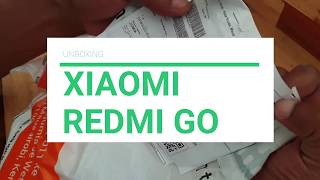 Unboxing the Xiaomi Redmi Go